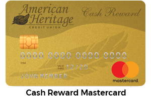 CASH REWARD MASTERCARD