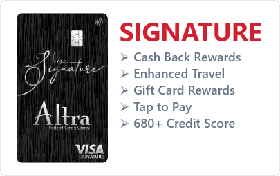 Signature Rewards Card
